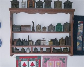 Great cast iron bank collection.