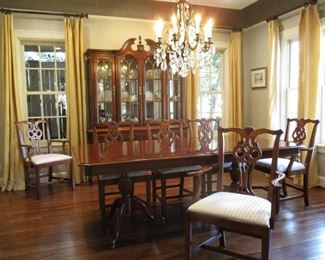 Chippendale style Dining Suite