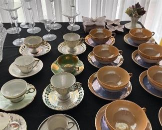 Cup & saucer collection