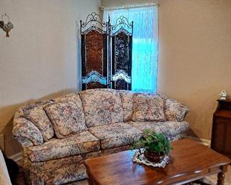 Broyhill Floral Sofa