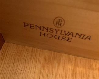 #15Pennsylvania House Sofa Table w/2 drawers 53Wx15Dx31T $275.00