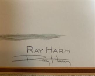 #68Pintail Print of a Duck signed by Ray Harm $75.00
