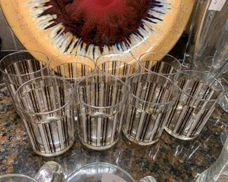 #77Culver Vintage Bar Rock Glasses - set of 8 $50.00