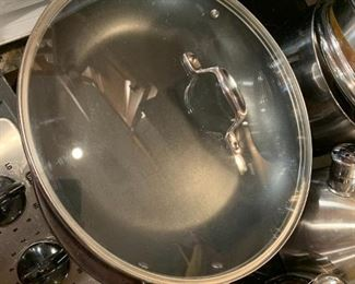 #79Emeril Lagasse double handle deep cooker $25.00