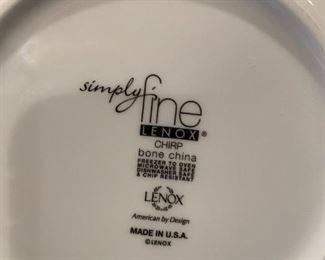 #87Chirp Lenox Medium Serving Bowl  9.5x4.5 $20.00