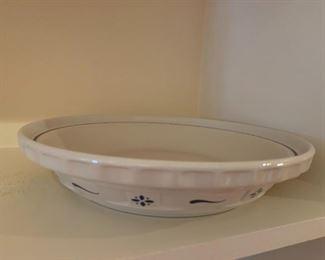 #94Longeberger Pie Plate $20.00