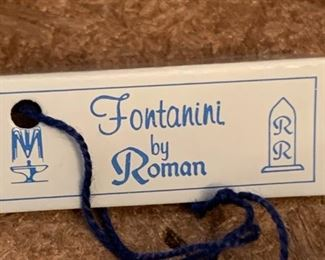 #115Fontanini - made in Italy - Manger Set $30.00