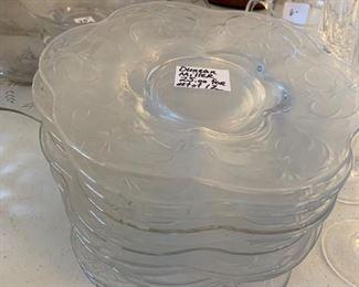 #118Duncan Miller set of 12 Dessert Plates  $25.00