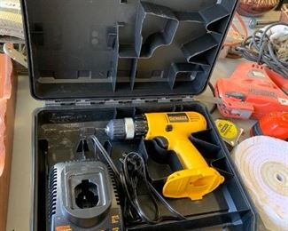#127Dewalt Battery operated Drill (no battery) $25.00