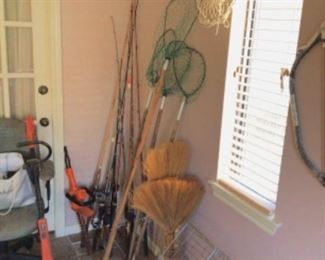 Fishing Poles and nets
