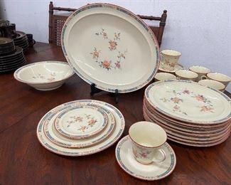 Noritake china set.