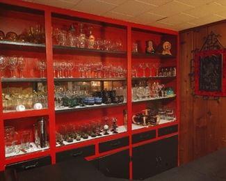 Amazing selection of barware