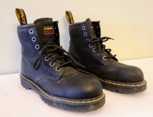 Dr. Martens Black Leather Boots. Nice pair of boots in great shape. Men's size 10.