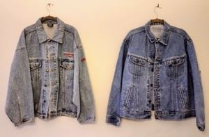 5d 13h 11m Pair of Denim Harley Davidson Jackets. Both are in great condition. Men's size XL.