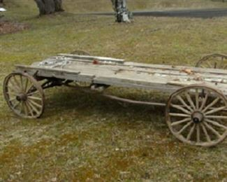 Crooked Lake Early Hotel guest luggage Wagon
