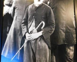 21 x 17 Framed Charlie Chaplin masterpiece edition