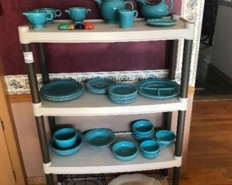 The Fiestaware has been spread out from the previous posted pictures!
