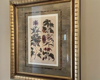 """$16.00................Floral Picture 25"""" x 29"""" (H099)"""