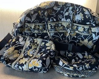 $45.00.................Vera Bradley Bags, 1 Large, 2 smaller Very Good Condition (H089)