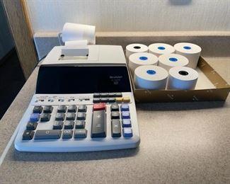 $15.00..................Sharp Calculator (H086)