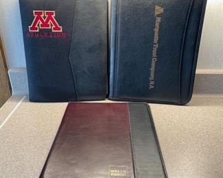 CLEARANCE !  $3.00 NOW, WAS $12.00.............Leather Binders (H082)