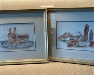 """HALF OFF!  $2.00 NOW, WAS $6.00.................Pair of Pictures 13"""" x 11"""" (H081)"""