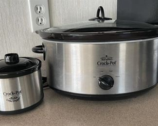 $20.00.....................Large and Small Crock Pots (H079)