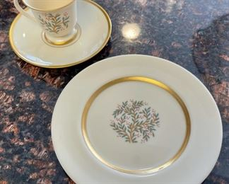"""CLEARANCE !  $3.00 NOW, WAS $10.00..................Franciscan China """"Fremont"""" Cup/Saucer and Plate (H070)"""
