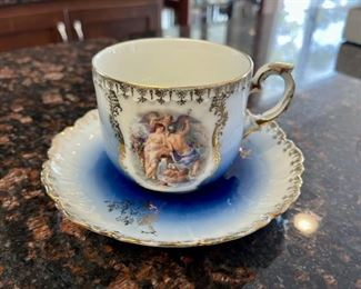 HALF OFF!  $12.50 NOW, WAS $25.00..................Royal Bavarian Cup and Saucer (H071)