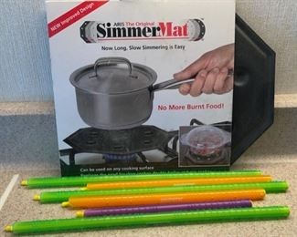 REDUCED!  $4.50 NOW, WAS $6.00...................Simmer Mat and more (H044)