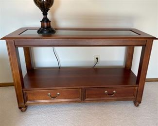 """$100.00.....................Broyhill Console Table 50"""" x 18"""", 30"""" tall (H011)"""