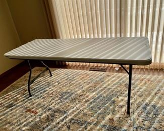 REDUCED!  $18.75 NOW, WAS $25.00...............6' Lifetime Table (H001)
