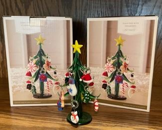 $16.00...................2 Glass Trees (H216)