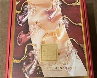 HALF OFF!  $6.00 NOW, WAS $12.00..................Holiday Decor , Lenox Angels (H195)