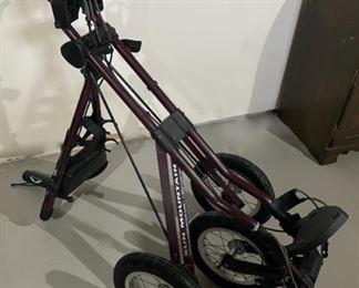 HALF OFF!  $50.00 NOW, WAS $100.00.......................Sun Mountain Golf Cart (H175)