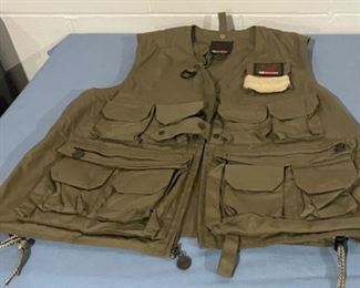 REDUCED!  $15.00 NOW, WAS $20.00......................Garcia Fishing Vest, One Size Fits All (H174)