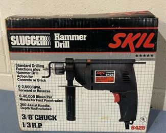 """CLEARANCE !  $5.00 NOW, WAS $30.00......................Skil Hammer Drill 3/8"""" Chuck (H152)"""