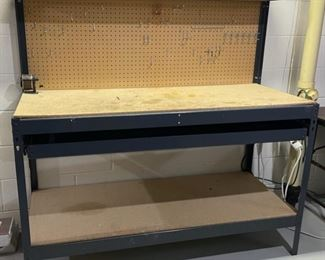 REDUCED!  $45.00 NOW, WAS $60.00.....................Work Bench (H151)