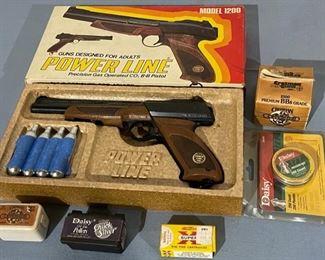 $40.00.....................BB gun (H148)