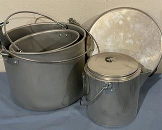 HALF OFF!  $8.00 NOW, WAS $16.00......................Camping Pans (H134)