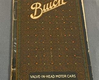 $25.00......................1918 Buick Book (H128)