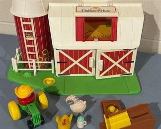 $20.00.................Fisher Price Barn (H124)