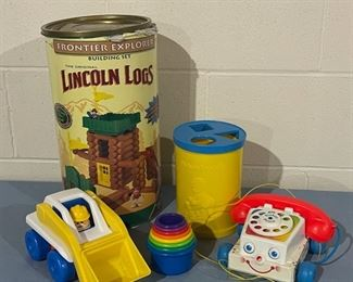 $20.00.......................Lincoln Logs and more (H120)