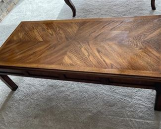 """CLEARANCE !  $5.00 NOW, WAS $40.00...................Coffee Table 53"""" x 23 1/2"""", 15"""" tall (H369)"""