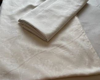 """CLEARANCE !  $3.00 NOW, WAS $16.00.............................2 84"""" curtain panels Threshold Linen (H327)"""