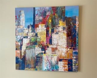"""REDUCED!  $37.50 NOW, WAS $50.00........................36"""" x 36"""" (H323)"""