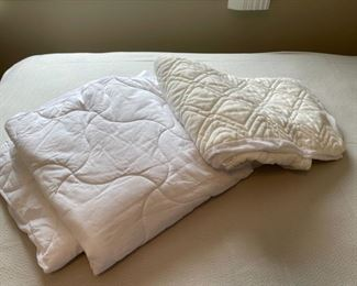 HALF OFF!  $5.00 NOW, WAS $10.00......................2 Twin Mattress Pads (H315)