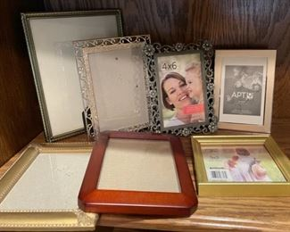REDUCED!  $9.00 NOW, WAS $12.00.........................Frames (H285)