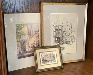 CLEARANCE !  $6.00 NOW, WAS $25.00..........................Vintage Pictures (H279)