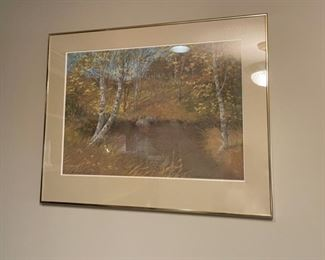 """CLEARANCE !  $5.00 NOW, WAS $50.00.....................""""North Shore Memories"""" 30"""" x 20"""" 1985 (H273)"""